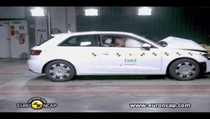 Audi A3 - Crash Test by EuroNCAP