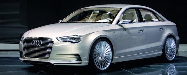 Audi A3 e-tron concept, dezvaluit la Shanghai Motor Show