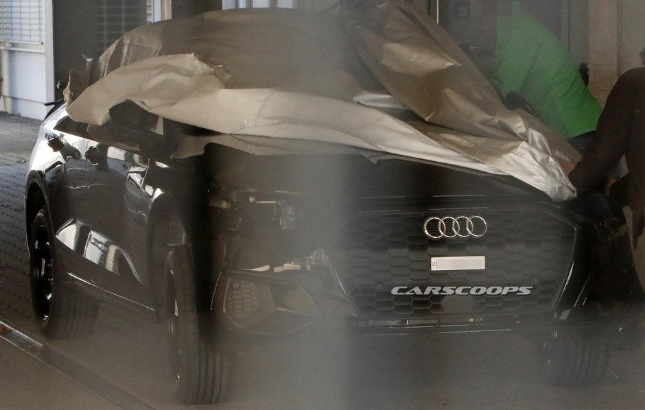 Audi A3 necamuflat