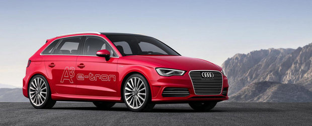 Audi A3 Sportback e-tron va debuta anul viitor