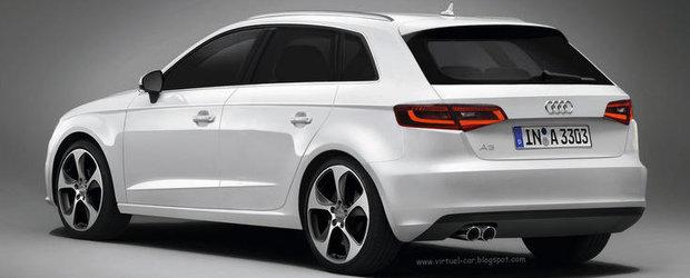 Audi A3 Sportback: Iata cum va arata urmatoarea generatie a modelului german