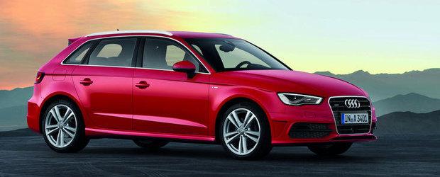 Audi A3 Sportback - Mai mult spatiu, mai putina greutate