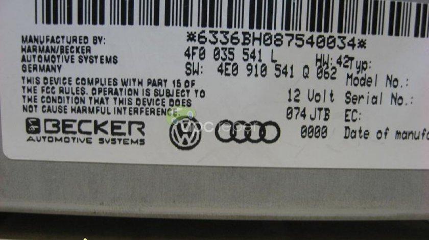 Audi A4 8K A5 8T A6 4F A8 4E Q7 4L Radio Box MMI 2G