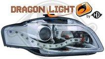 AUDI A4 B7 ACCESORII TUNING FARURI STOPURI LED GRI...