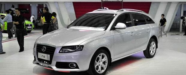 Audi A4 Made in China - Yema F16, clona unui break german