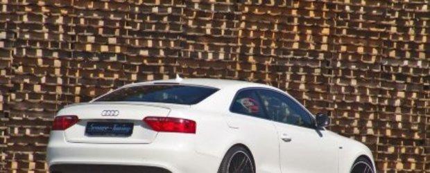 Audi A5 3.0 TDI Black and White tunat de Senner Tuning