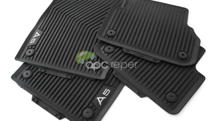 Audi A5 F5 (8W) COUPE - Covorase Cauciuc Originale (2017 - 2020)