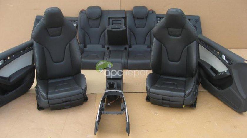 Audi A5 S5 Sportback Interior Complet Original S5 Piele Neagra