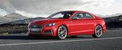 Design-ul noului Audi A5 o sa te faca sa uiti complet de BMW sau Mercedes. Cum arata coupe-ul german