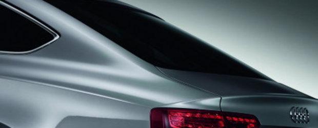 Audi A5 Sportback - Primele detalii oficiale