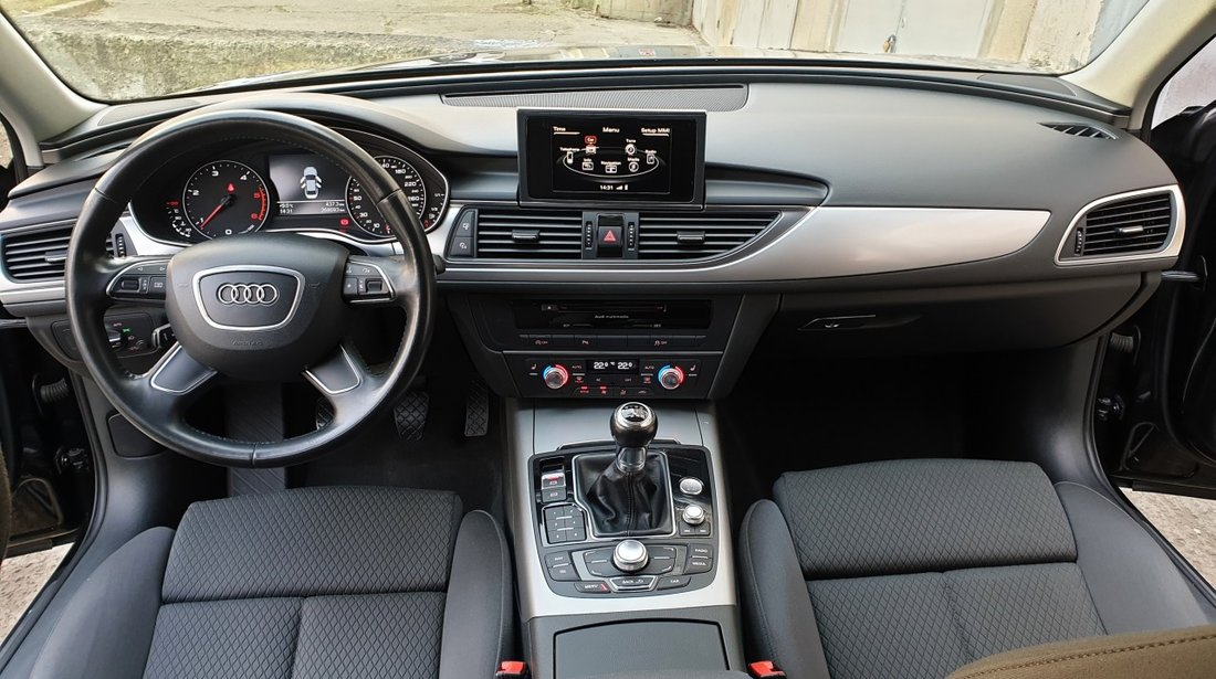 Audi A6 2.0 tdi 177 cp / full neon / bi-xenon / camera / fab. 2013