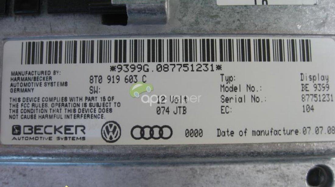 Audi A6 4F Q7 4L A4 8K A5 8T MMI 2G Display Color Mare