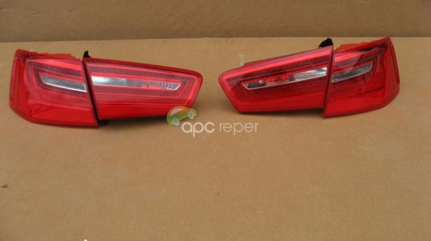 Audi A6 4G Stopuri LED USA Originale