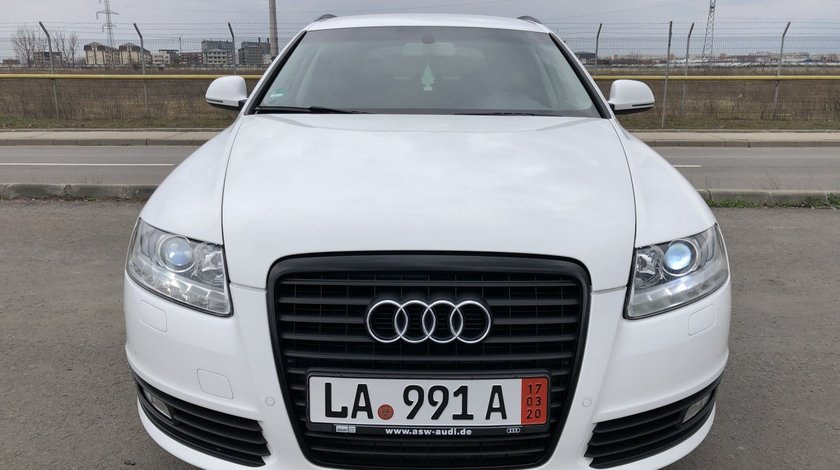 Audi A6 A6 Facelift Full LED Euro 5/190 Cp/Automata/NAVI Mare/Xenon/Piele/Pilot/Climatronic/Senzori parcare fata-spate/Bluetooth/Proiectore…etc RECENT ADUSA DIN GERMANIA!!! 2009