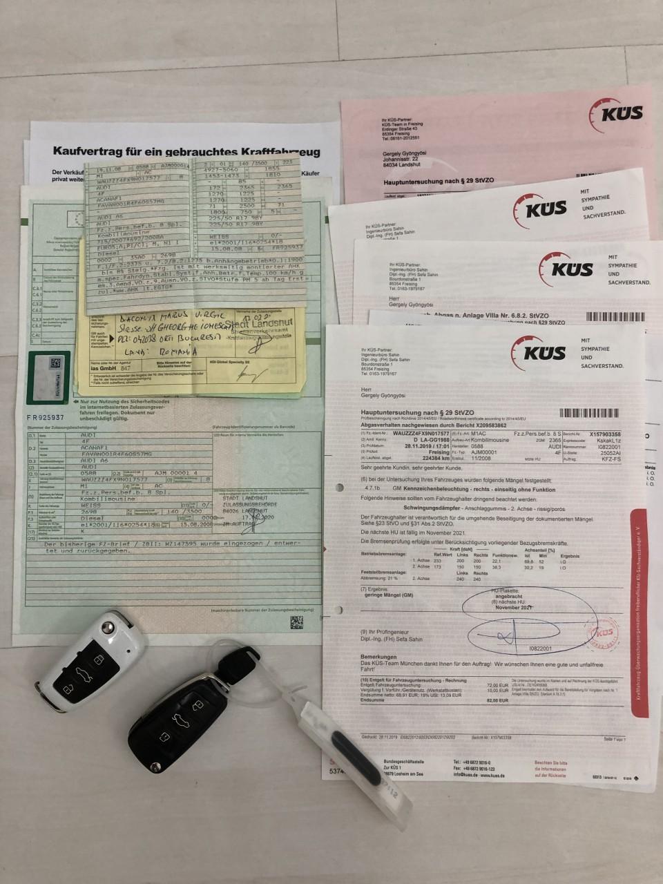 Audi A6 Audi A6 A6 Facelift Full LED Euro 5/190 Cp/Automata/NAVI Mare/Xenon/Piele.... 2009