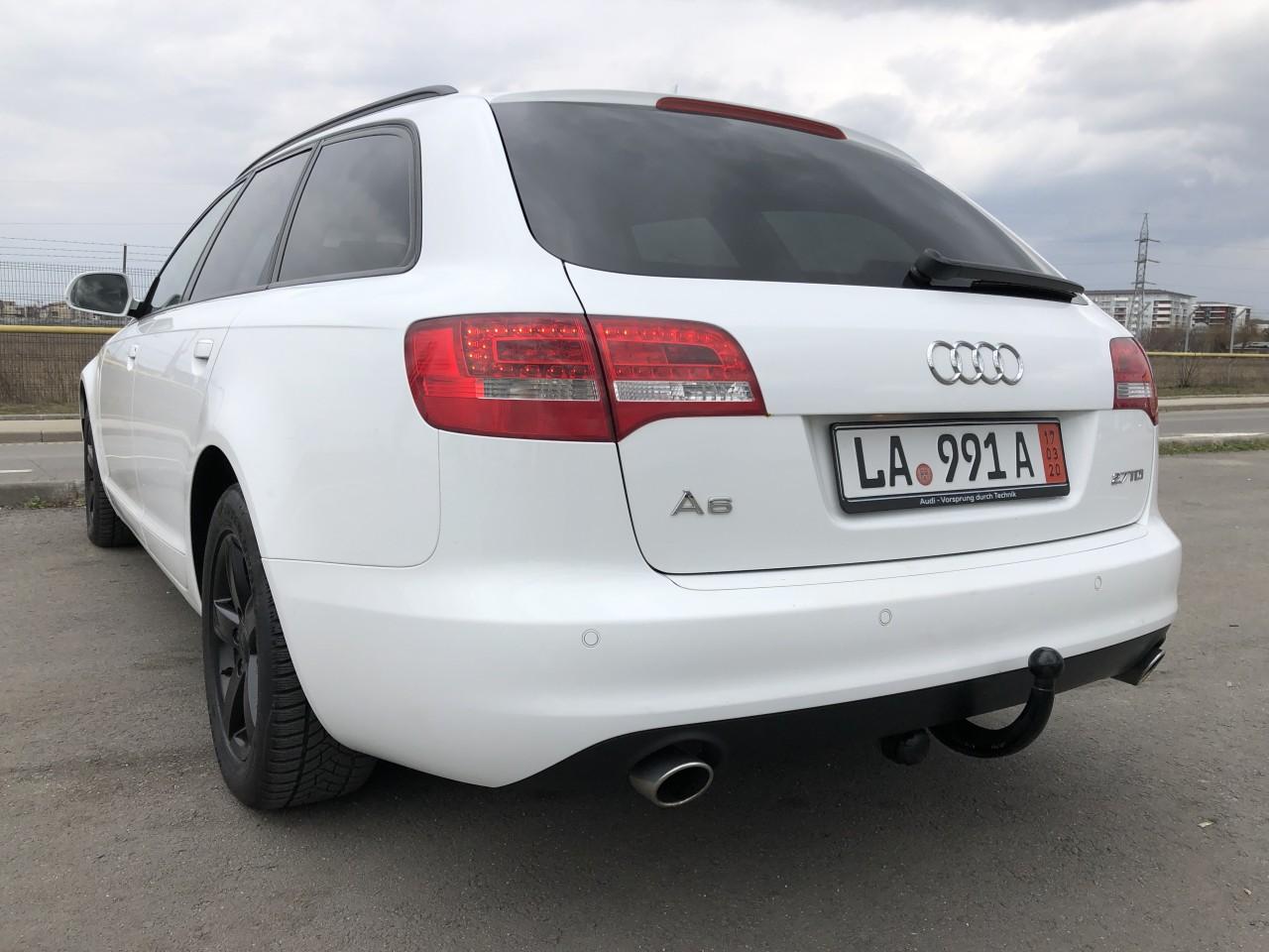 Audi A6 AUDI A6  Facelift Full LED Euro 5/2.7 TDI 190 Cp /Automata/NAVI Mare/Xenox/Piele/Senzori parcare fata+spate/6 CD/Bluetooth/Pilot…RECENT ADUSA DIN GERMANIA!!! 2009