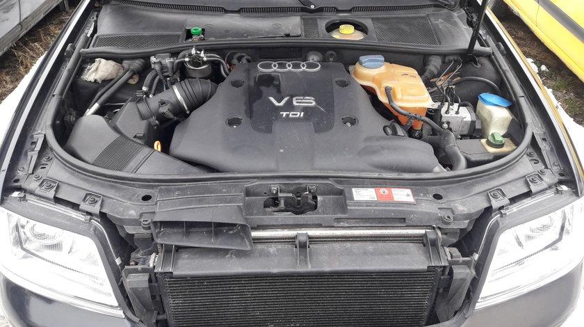 Audi A6 Avant 2,5 TDI motor AKN, cutie automata cod ETZ, 2000, tapiterie interior/scaune piele crem