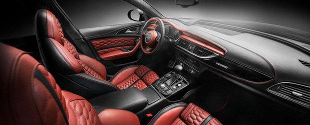 Audi A6 by Carlex Design: Un festin cu faguri si piele de Bentley