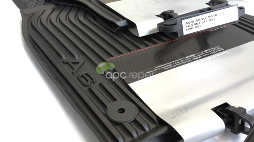 Audi A6 C7 4G - Covorase Cauciuc Originale (2011 - 2018)