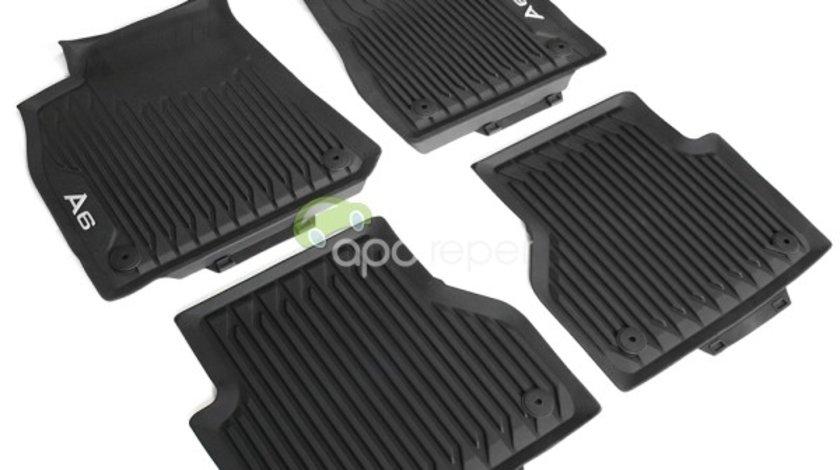 Audi A6 C8 (4K) - Covorase Cauciuc Originale (2019 - 2020)