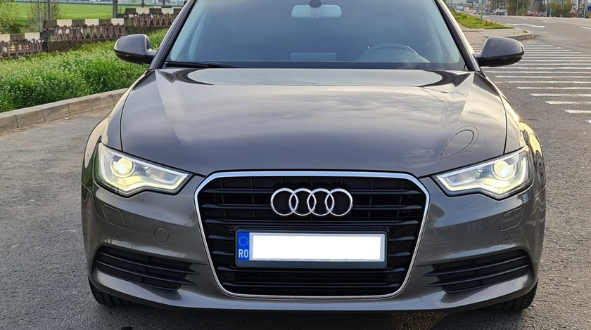 Audi A6 impecabil  2.0 TDI 177 CP full options camera piele inmatri RO.2020  an fab. 2012