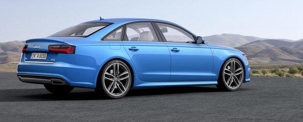 Audi A6 primeste un facelift pentru Salonul Auto de la Paris