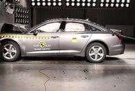 Audi A6 si Volkswagen Touareg la EuroNCAP