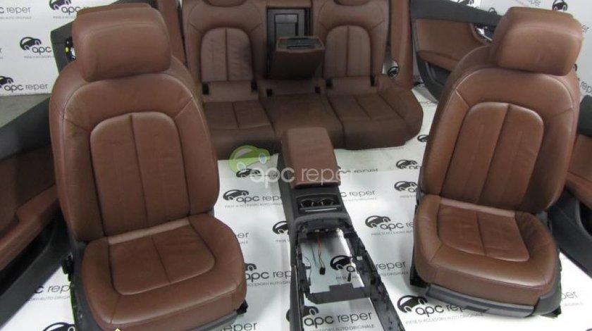 Audi A7 Interior Complet Piele Scaune Piele Electrice Memorii