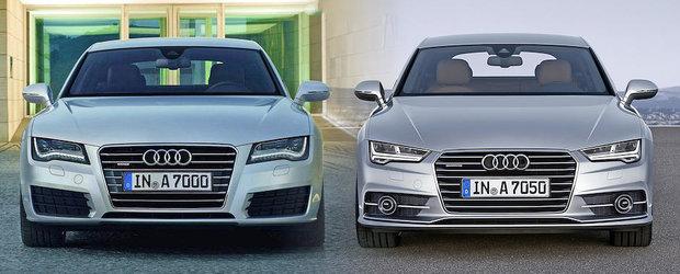 Audi A7 Sportback a primit un facelift. Gaseste diferentele!