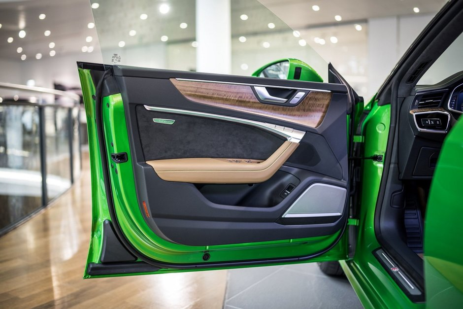 Audi A7 Sportback in Java Green