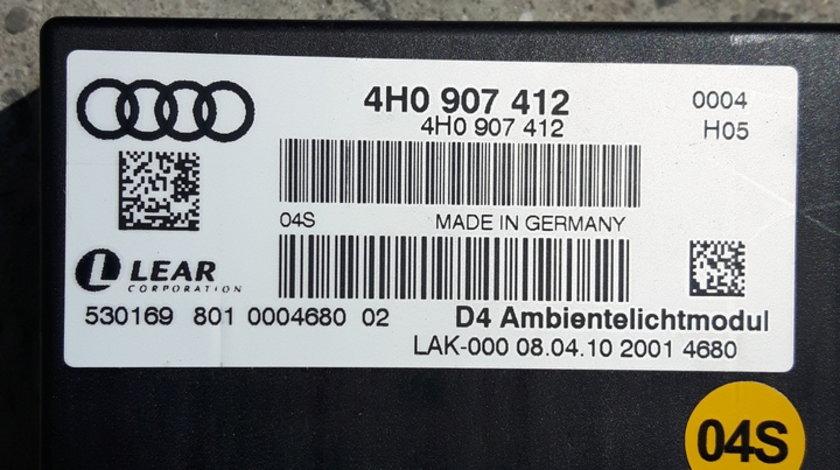 Audi A8 4H A6 4G A7 4G Modul Lumina Ambientala 4H0907412