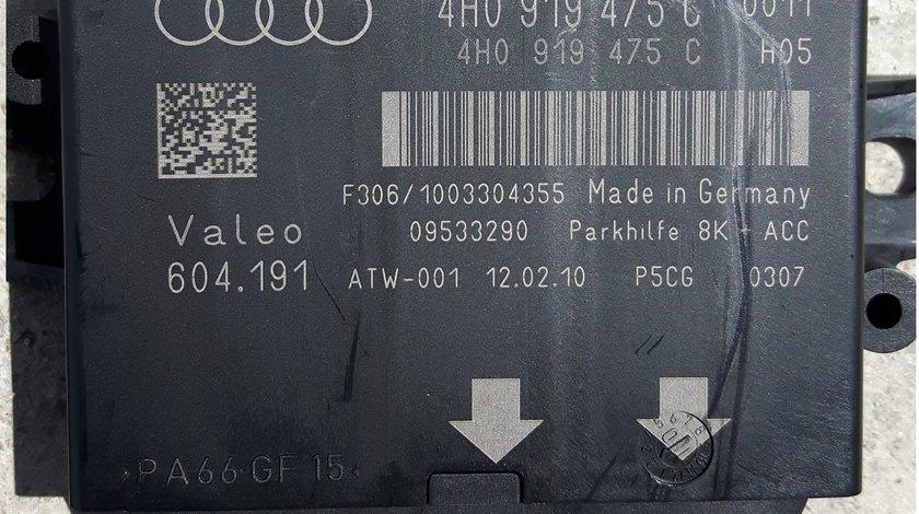 Audi A8 4H A6 4G C7 MODUL SENZORI PARCARE ECU 4H0919475C