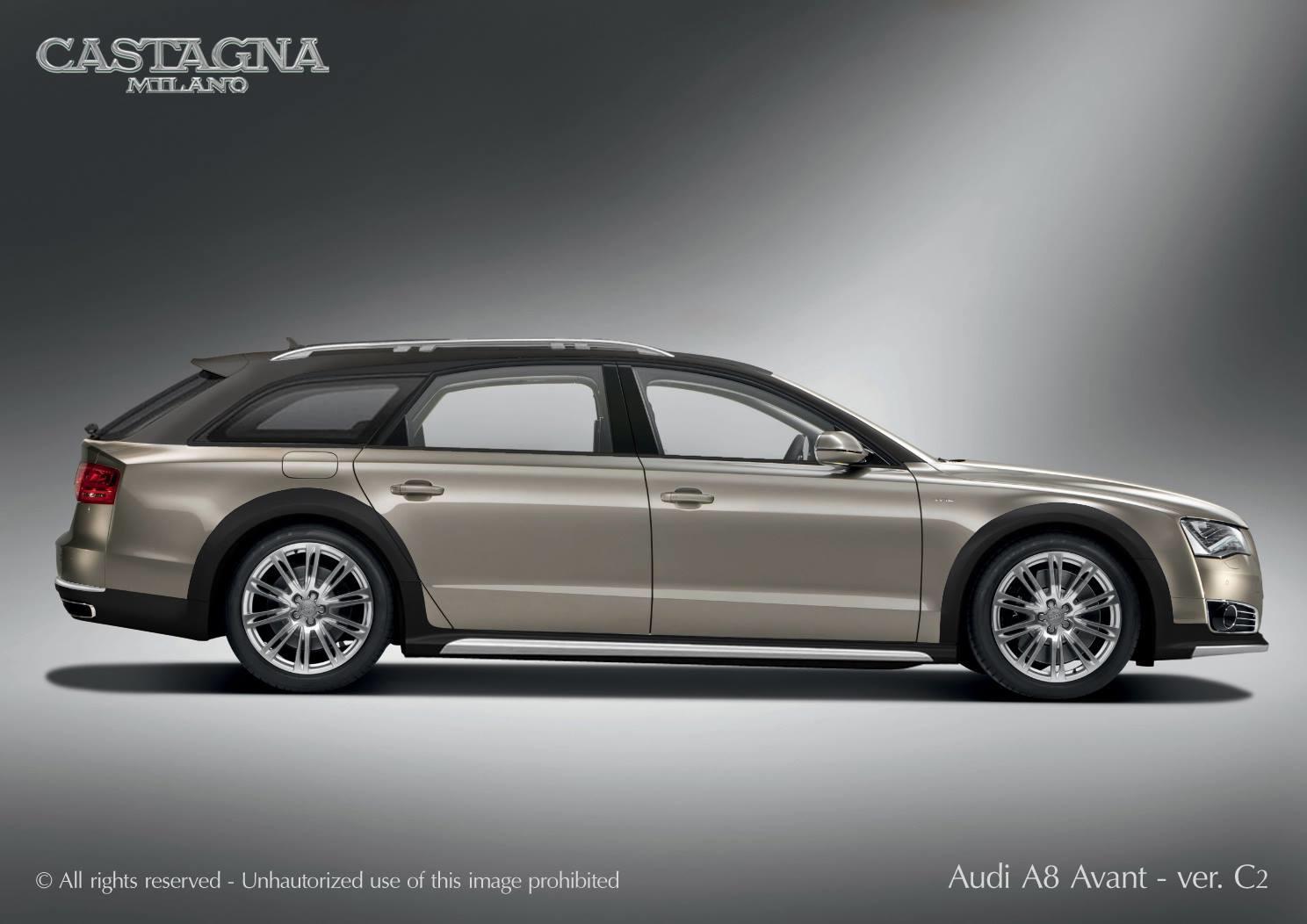 Audi A8 Avant Allroad de la Castagna Milano - Audi A8 Avant Allroad de la Castagna Milano