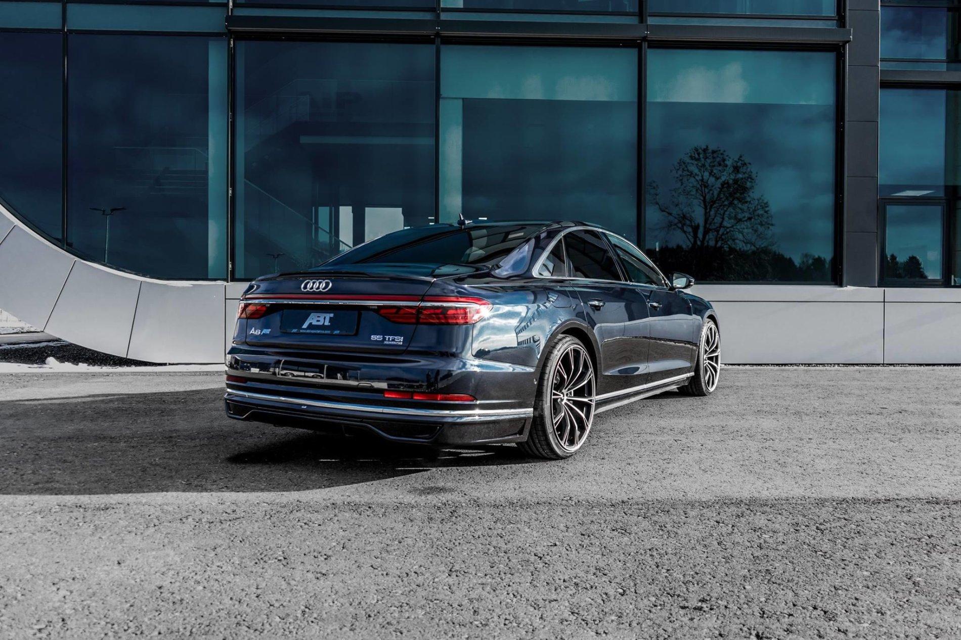 Audi A8 de la ABT - Audi A8 de la ABT