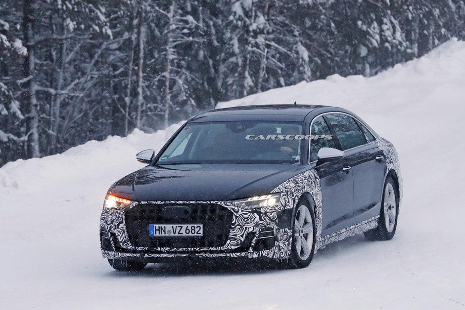 Audi A8 Horch - poze spion