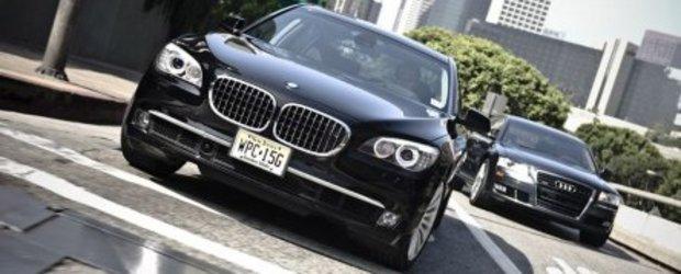 Audi A8 vs. BMW 750Li vs. Mercedes-Benz S550