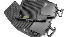 Audi A8L 4N (D5) Covorase Cauciuc Originale - (201...
