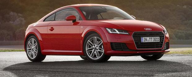 Audi anunta o noua motorizare pentru ultimul TT