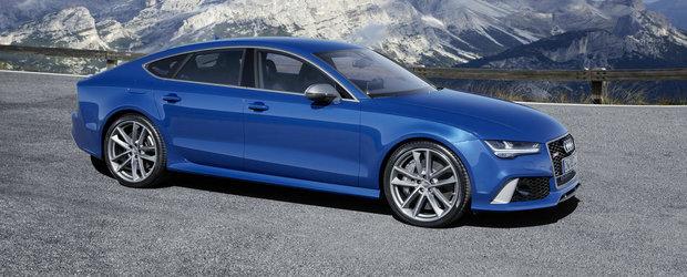 Audi anunta o varianta de 605 CP pentru modelele RS6 si RS7