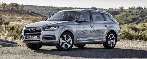 Audi anunta pretul noului Q7 e-tron. Cat costa SUV-ul care consuma 1,7 la suta