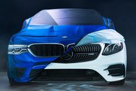 Audi, BMW si Mercedes de Halloween