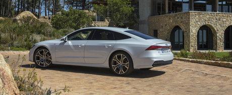 Audi crede ca noul A7 arata mai bine decat Mercedes CLS si publica aceste imagini ca sa o demonstreze