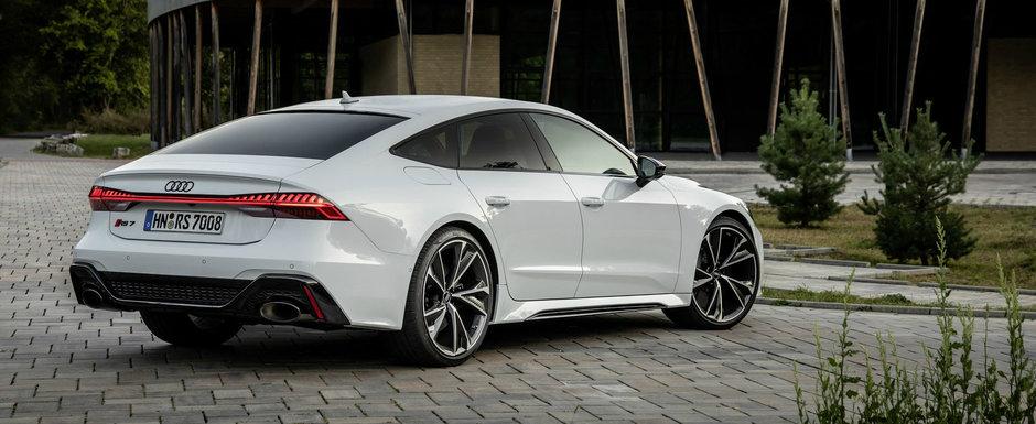 Audi crede ca noul RS7 arata mai bine decat orice M5 si publica aceste imagini ca sa ne demonstreze ca nu exagereaza cu nimic