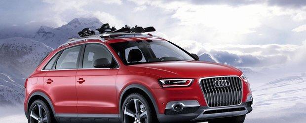 Audi dezvaluie econceptul Q3 Red Track