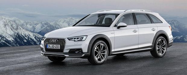Audi dezvaluie noul A4 allroad quattro. GALERIE FOTO si VIDEO in ARTICOL.