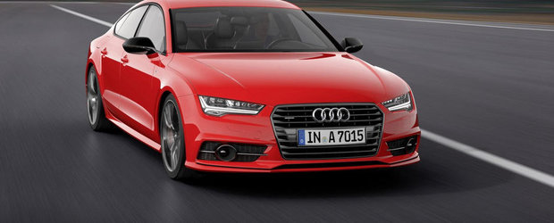 Audi dezvaluie noul A7 3.0 TDI Competition, cu pana la 346 CP sub capota