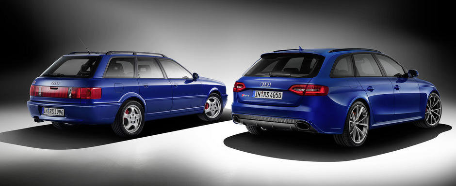 Audi dezvaluie noul RS4 Avant Nogaro. Modelul omagiaza iconicul Avant RS2