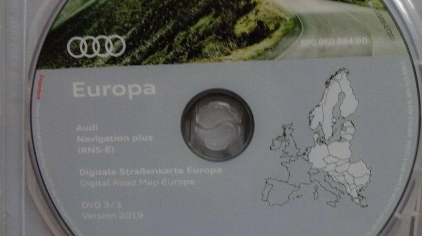 Audi dvd navigatie ORIGINAL RNS-E A3 A4 A6 TT R8 Europa Romania 2019