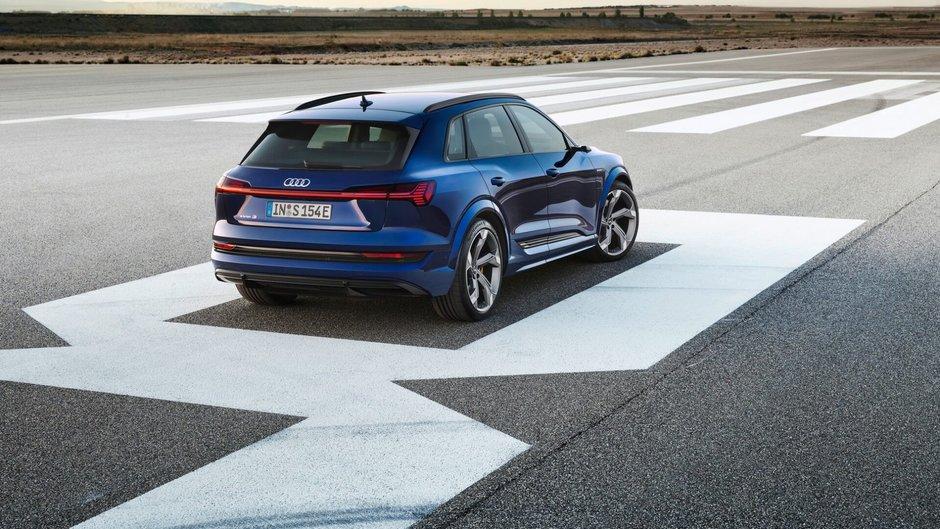 Audi e-tron S si e-tron S Sportback