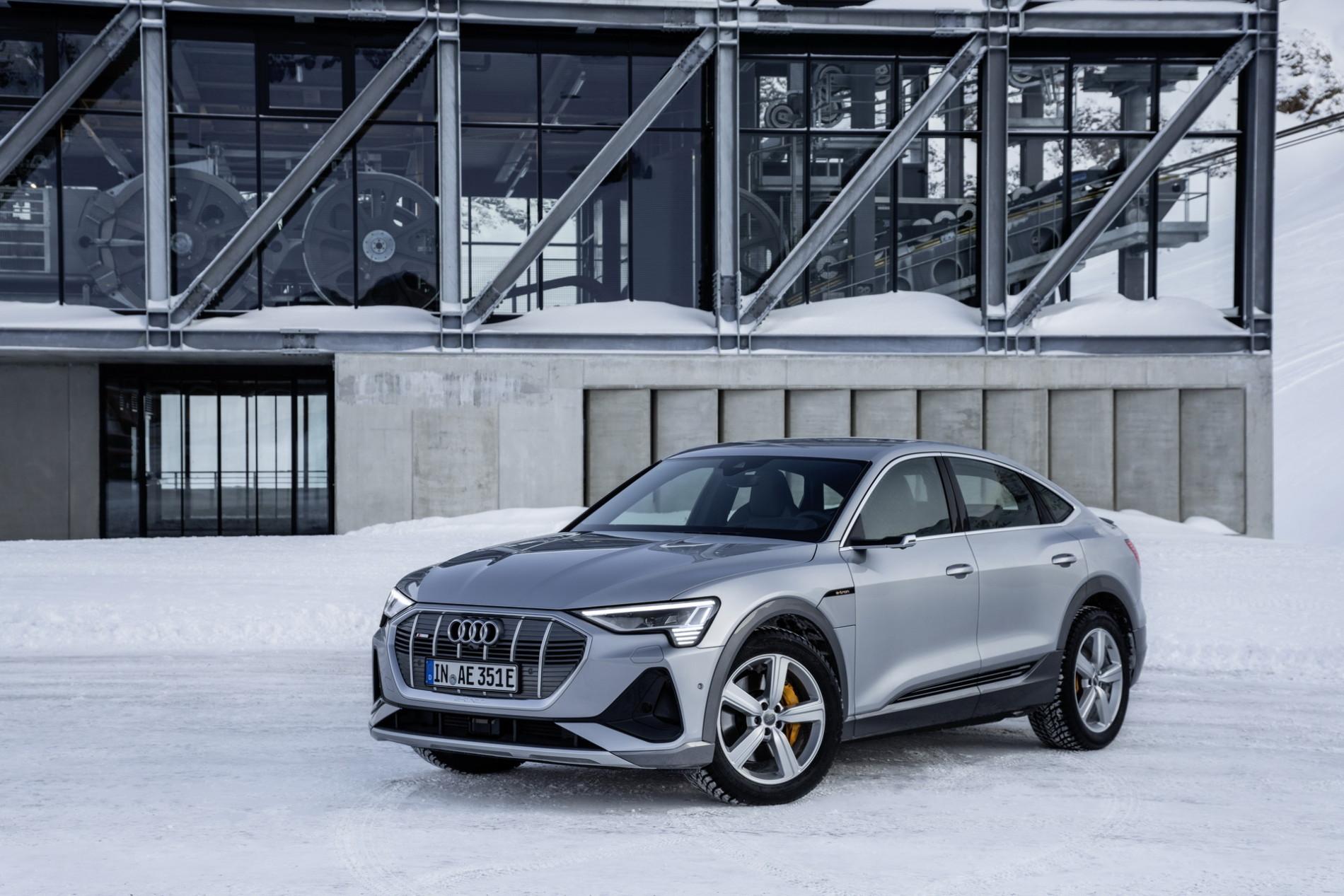 Audi E-tron Sportback - Galerie Foto - Audi E-tron Sportback - Galerie Foto